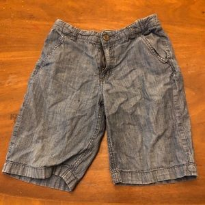 Old navy chambray denim shorts